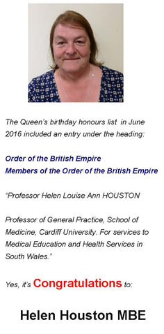 Helen Houston MBE
